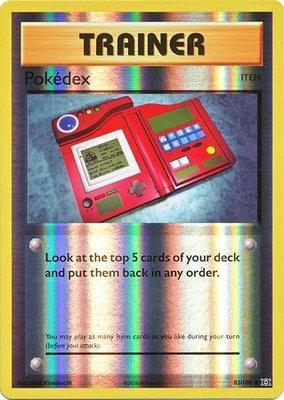 Pokedex - 82/108 - Uncommon Reverse Holo