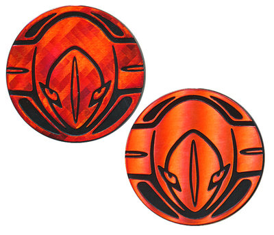 Pokemon Deoxys Collectible Coin (Red)