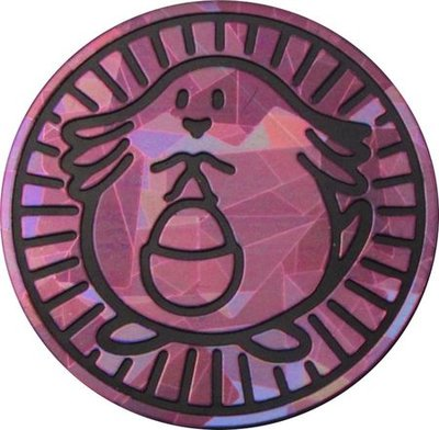 Pokemon Chansey Collectible Coin (Purple)