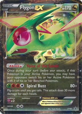 Flygon EX // Pokémon kaart