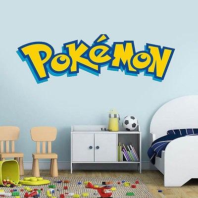 Pokémon XL Muursticker (90x30cm)