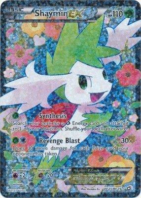 Shaymin EX // Pokémon kaart