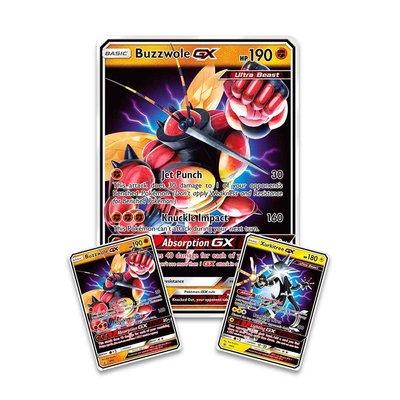 JUMBO Buzzwole GX Ultra Beast // Oversized Pokémon kaart