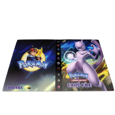 Mewtwo verzamelmap Pokémon