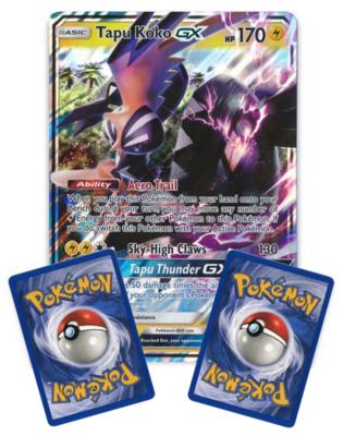 Tapu Koko GX // Oversized Pokémon kaart