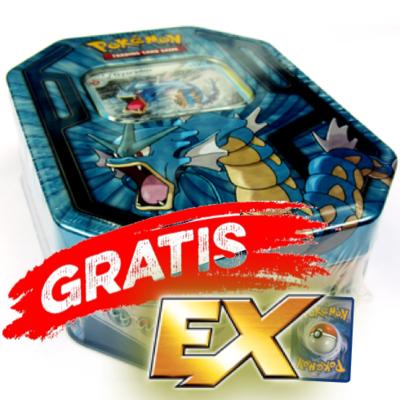Nieuw Pokemon Bewaarblik inclusief EX kaart (Dragonite)