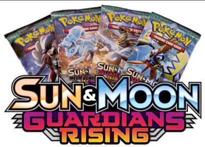 Pokémon Kaarten Guardians Rising Booster Pack (10 kaarten)