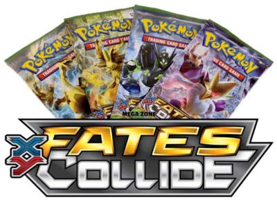 Pokémon Kaarten XY Fates Collide Booster Pack (10 kaarten)