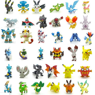 Pokémon Action Figures 6 stuks