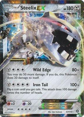 Steelix EX // Pokémon kaart