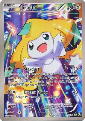 Jirachi - XY67a - Alternate Art Promo