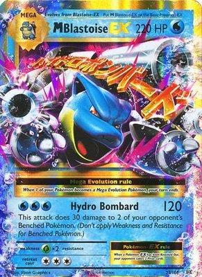 Mega M Blastoise EX Ultra Rare
