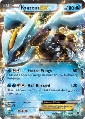 Kyurem EX // Pokémon kaart