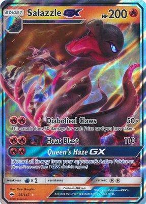 Salazzle GX // Pokémon kaart