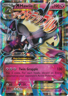 MEGA Mawile EX // Pokémon Kaart