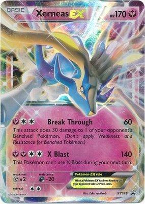 Xerneas EX // Pokémon kaart
