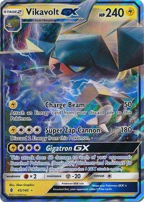 Vikavolt GX // Pokémon kaart