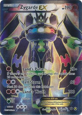 Zygarde EX Full Art - Ultra Zeldzame Pokémon kaart