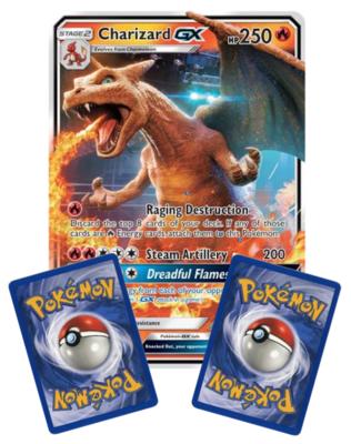 Nieuw: CHARIZARD GX  // Oversized Pokémon kaart