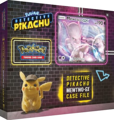 Mewtwo-GX Case File (Detective Pikachu)