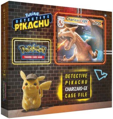 Charizard-GX Case File (Detective Pikachu)