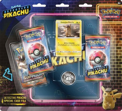 Detective Pikachu Special Case File (inclusief map)