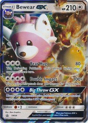 Bewear GX // Pokémon kaart