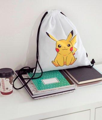 Pikachu Gymtas met trekkoord
