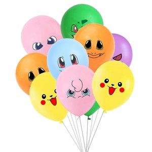 Pokémon Feest Ballonnen — Vrolijke Multiverpakking 4 stuks