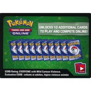 20 willekeurige codekaarten voor Pokémon TCG Online.
