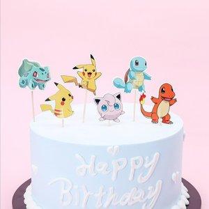 Pokémon Cocktail Prikkers — Verjaardag Decoratie 24 stuks