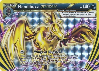 Mandibuzz BREAK kaart