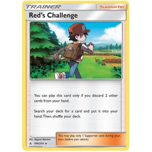 Red's Challenge - 184/214 - Holo Rare