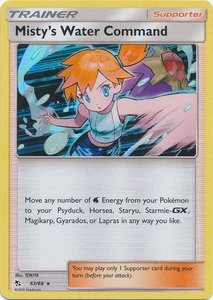 Misty's Water Command - 63/68 - Holo Rare
