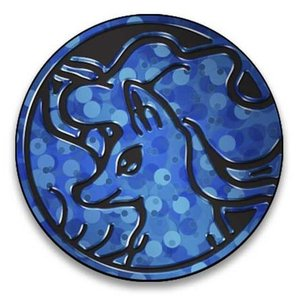 Pokemon Ninetales Collectible Coin (Blue)