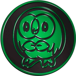 Pokemon Rowlet Collectible Coin