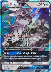 Silvally GX - Ultra Zeldzame Pokémon kaart