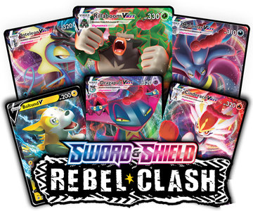 Nieuw: Pokémon Sword & Shield: Rebel Clash - Booster Pack (10 kaarten)