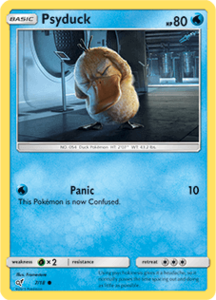 Psyduck - 7/18 - Holo - Detective Pikachu Series