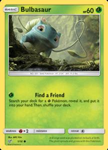 Bulbasaur - 1/18 - Holo - Detective Pikachu Series