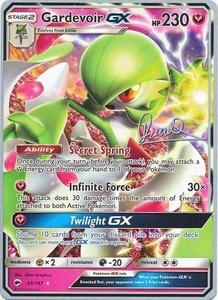 Gardevoir GX Pokémon kaart (2017)