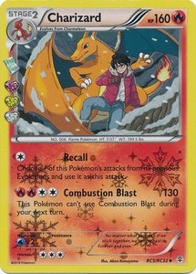 Charizard - rc5/rc32 - Uncommon Holo - Generations