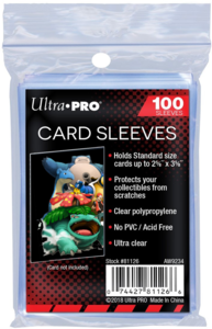 Ultra Pro Card Sleeves Soft (100 stuks)