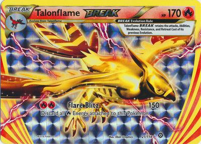 Talonflame BREAK kaart