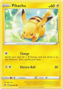 Pikachu - 065/202 - Common (2020)