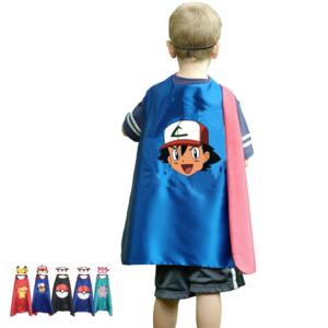 Pokémon Superhelden Outfit (Cape + Masker)