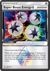 Super Boost Energy - 136/156 - Holo Rare