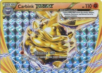 Carbink BREAK kaart