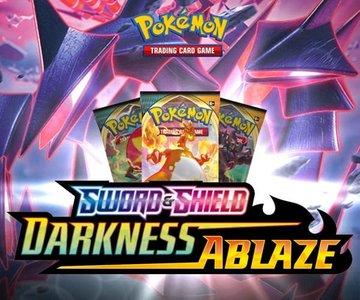 Nieuw: Pokémon Sword & Shield Darkness Ablaze - Booster Pack (10 kaarten)
