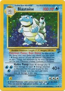 Blastoise - 2/130 - Holo Base Set 2